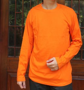 Oneck panjang Orange